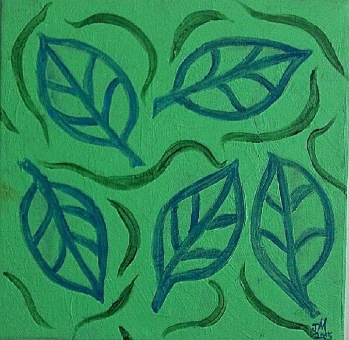 5 Floating Leaves - Joan McDonough
