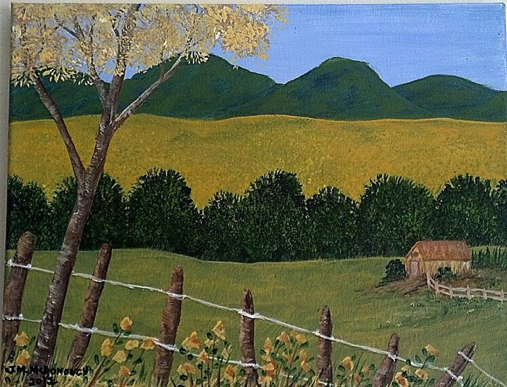 Glimpse of Wild Flowers - Joan McDonough