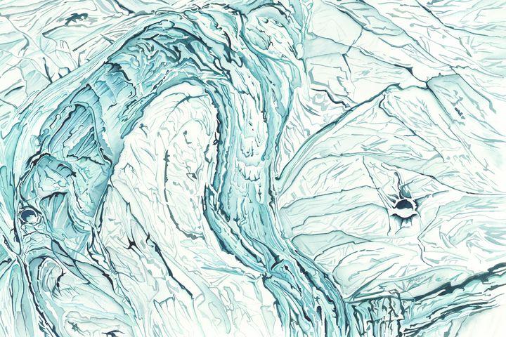 Enceladus Ice Fields - Fraser Hagen