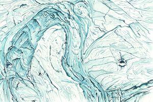 Enceladus Ice Fields