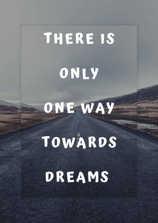 Motivational Quote| Poster|Wall Art| - The Art Cart