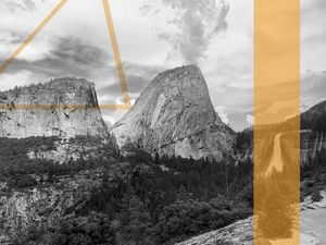 Yosemite Half Dome - Kaleb Mathieu Art