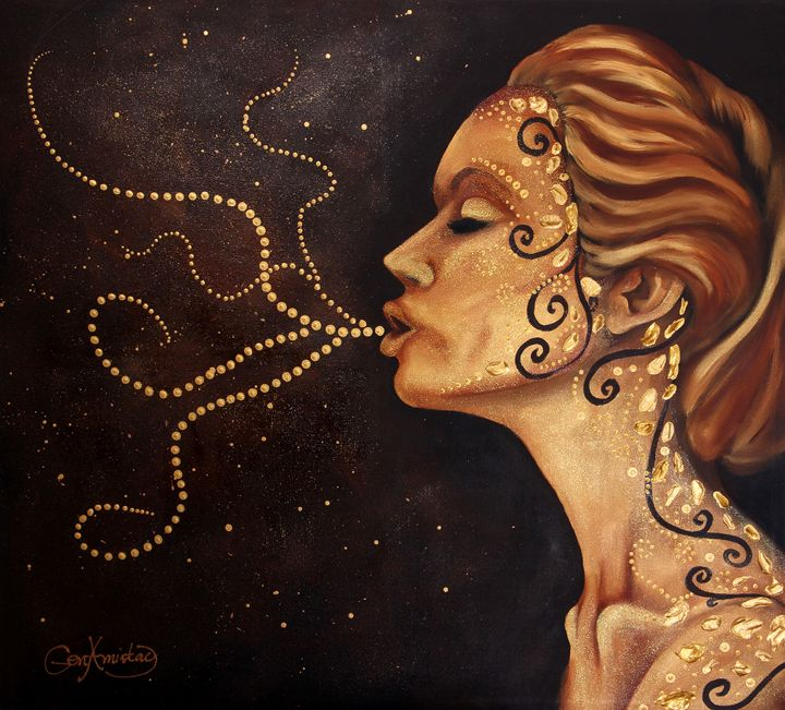 Enchantress - Paintings by Gen Amistad