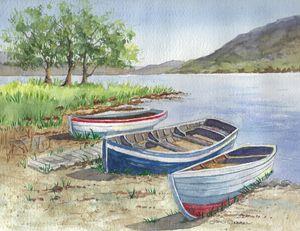 Trio of Boats