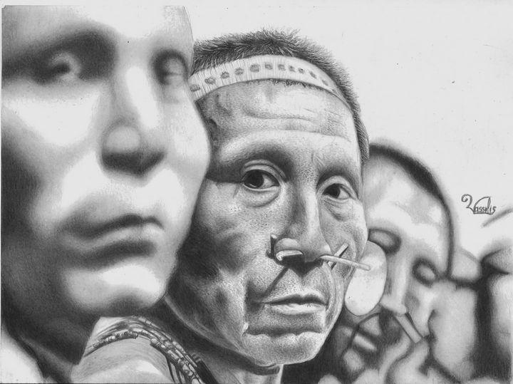 Matis people - Vassilis arts