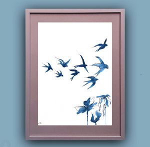 Swallows in the Sky I