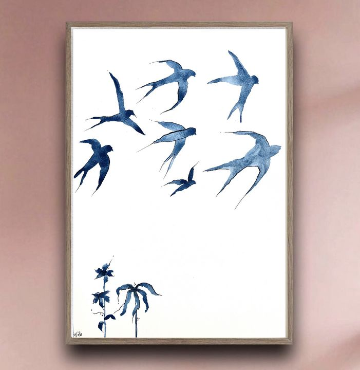 Swallows in the Sky II - The Sally Society