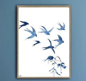 Swallows in the Sky III