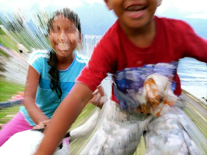 Happy Kids in Guatemala - OpposableThumbnails