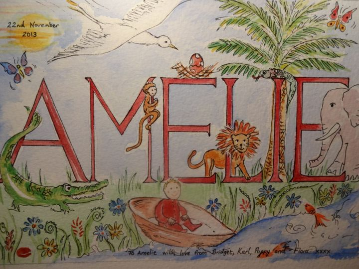 Amelie - An Original Gift - Paint My Story