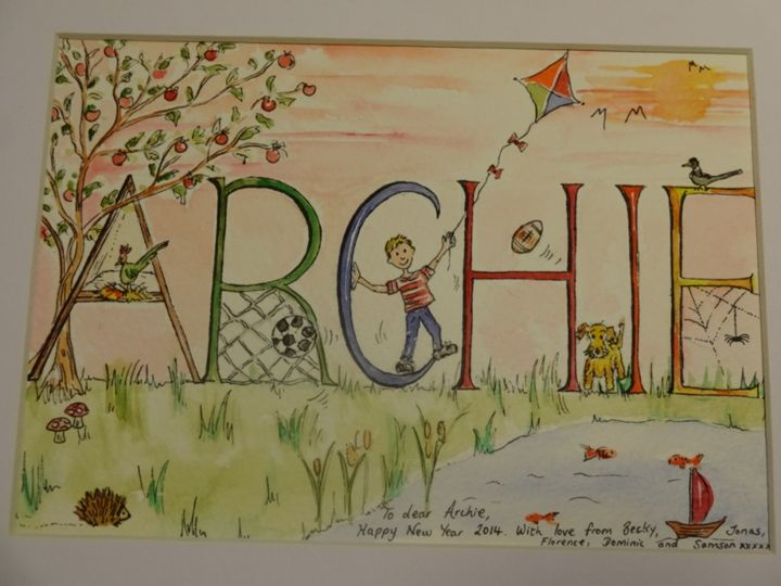 Archie - An Original Gift - Paint My Story