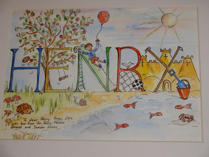 Henry - An Original Gift - Paint My Story