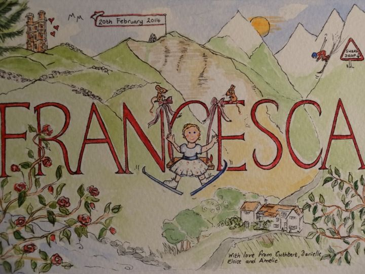 Francesca - An Original Gift - Paint My Story