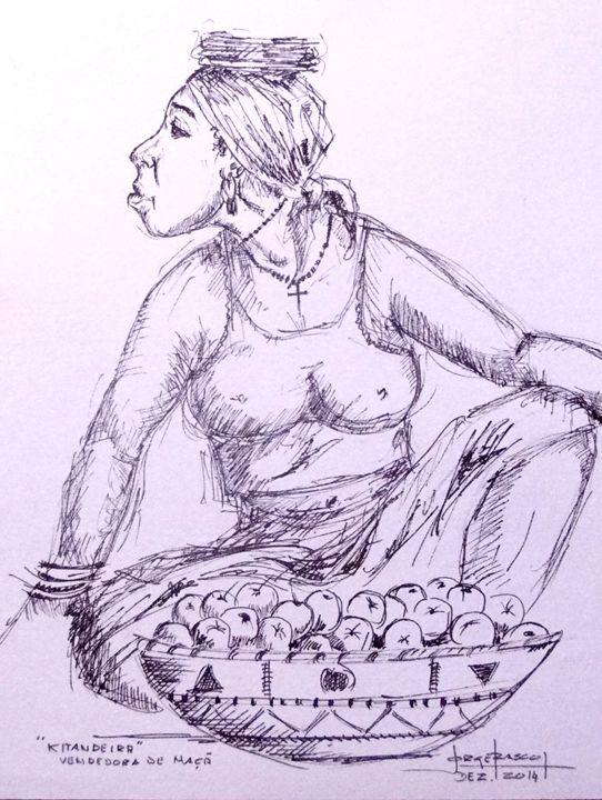 Vendedora de Maçã - António Jorge Frasco