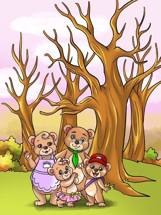 Treehoven Family Portrait - Treehovenland