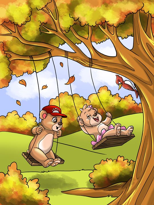 Swinging Together - Treehovenland