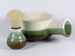 Shaving Mug for Him - NelaCeramics Gallery