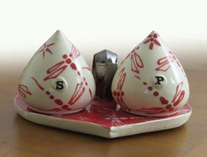 Valentine Salt and Pepper Shakers