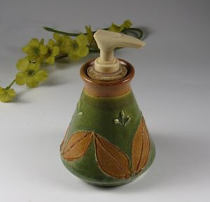 Soap/Lotion Dispenser - NelaCeramics Gallery