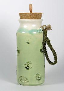 Tall Travel Mug with Cork - NelaCeramics Gallery