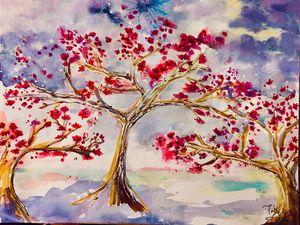 Sakura Trees in Oregon