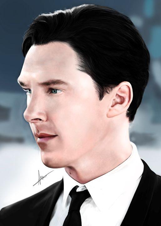 Red Carpet Benedict Cumberbatch - Amba Gem Art