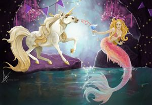 Unicorn Mermaid party!