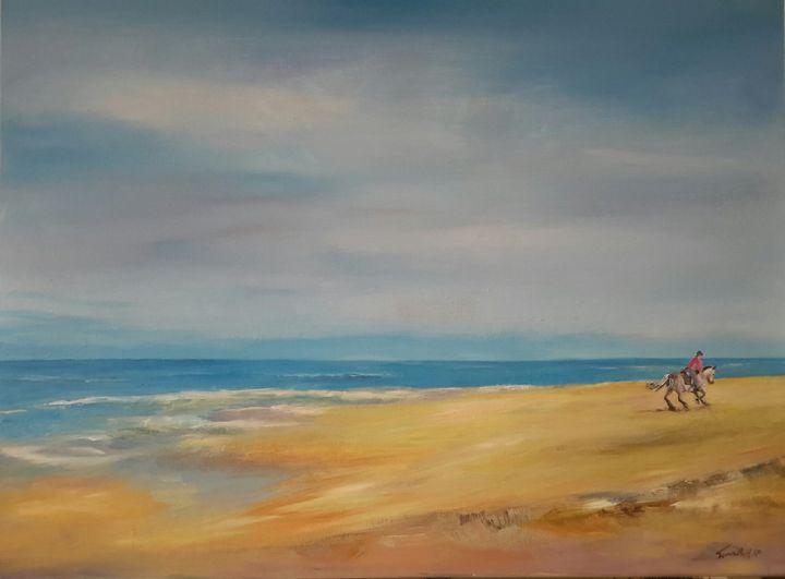 on the beach - TinaH