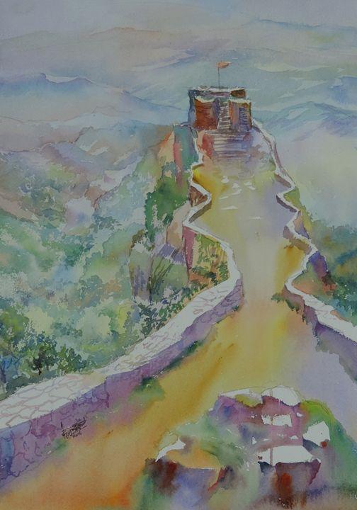 Pratap Gad - Ajit Bhat Finearts