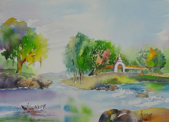 Finally There - Ajit Bhat Finearts