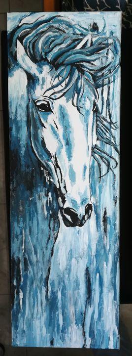Blue Horse - Afroditi
