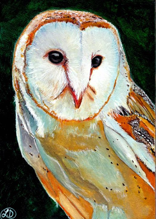BARN OWL - Creations by Laur