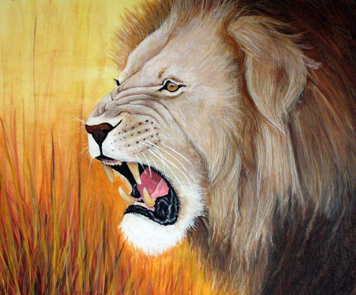 LION'S ROAR - Creations by Laur