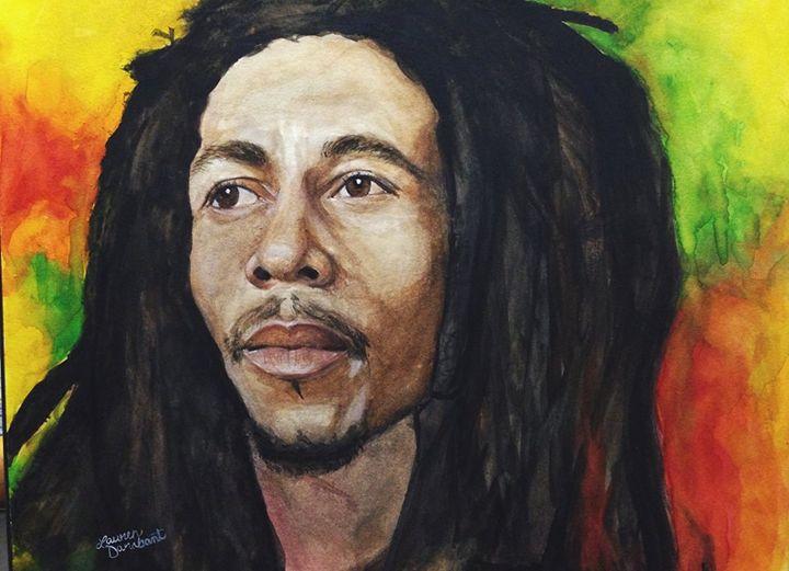 Bob Marley - Creations by Laur
