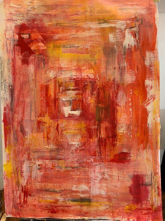 orange travel - BERNITA SHELLEY