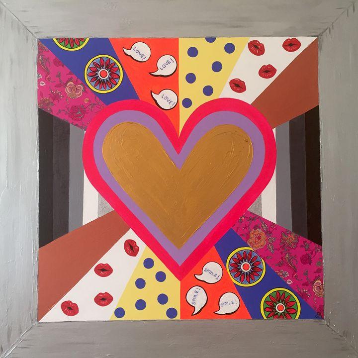 Gold Heart - BERNITA SHELLEY
