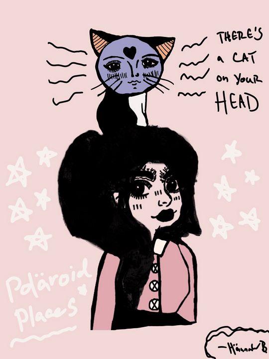 Cat on my Head! - Hännah