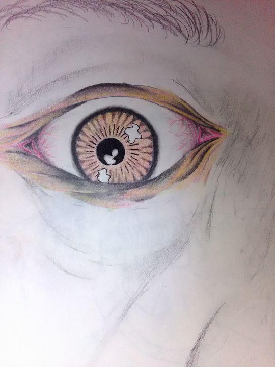 The eye - Harris Art