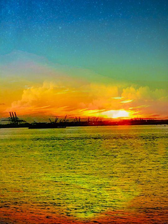 Sunset in Colors - Gene K