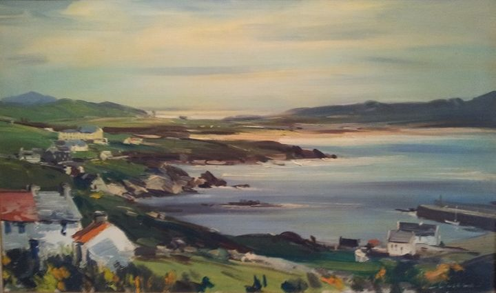 Portnablagh - Kenneth Webb Oil on Canvas
