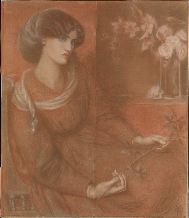 Dante Gabriel Rossetti~Jane Morris S - Old master