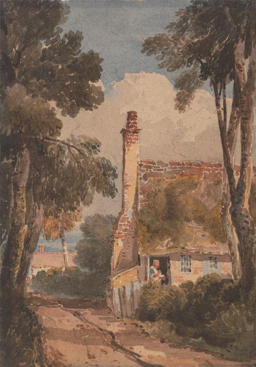 David Cox~Harborne - Old master