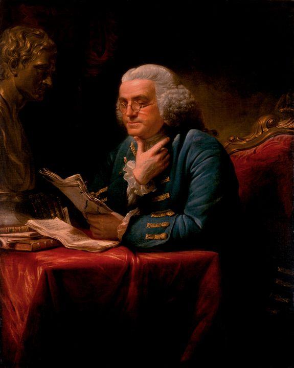 David Martin~Benjamin Franklin - Old master