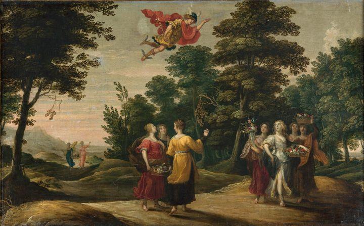 David Teniers the Elder~Mercurio des - Old master
