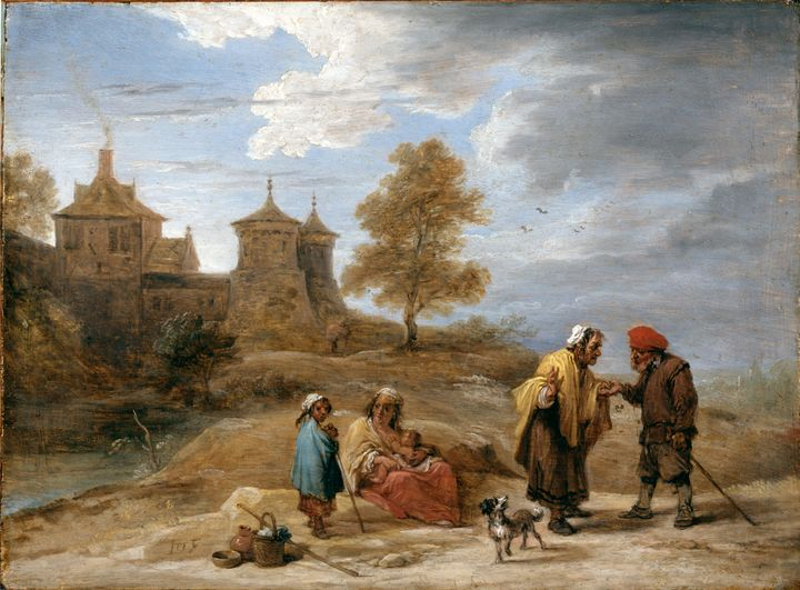David Teniers the Younger~Gypsies in - Old master