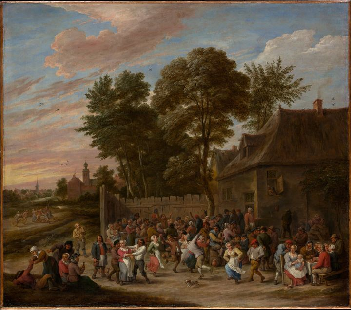 David Teniers the Younger~Peasants D - Old master