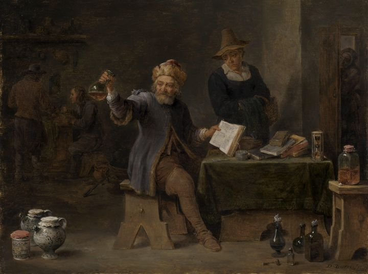 David Teniers the Younger~The Villag - Old master