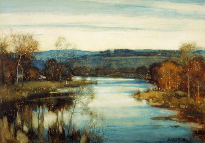 David Young Cameron~The Waning Light - Old master