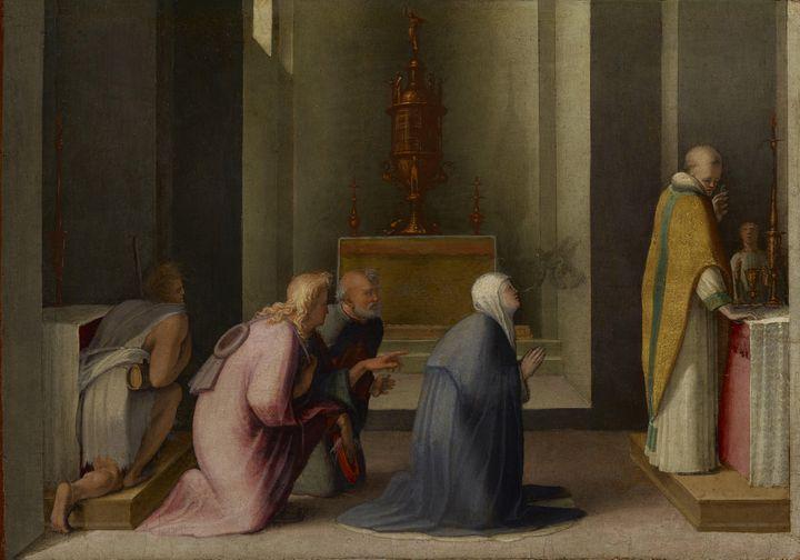 Domenico di Pace Beccafumi~The Mirac - Old master