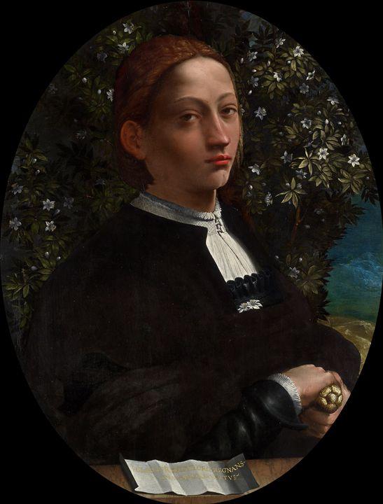 Dosso Dossi~Lucrezia Borgia, Duchess - Old master